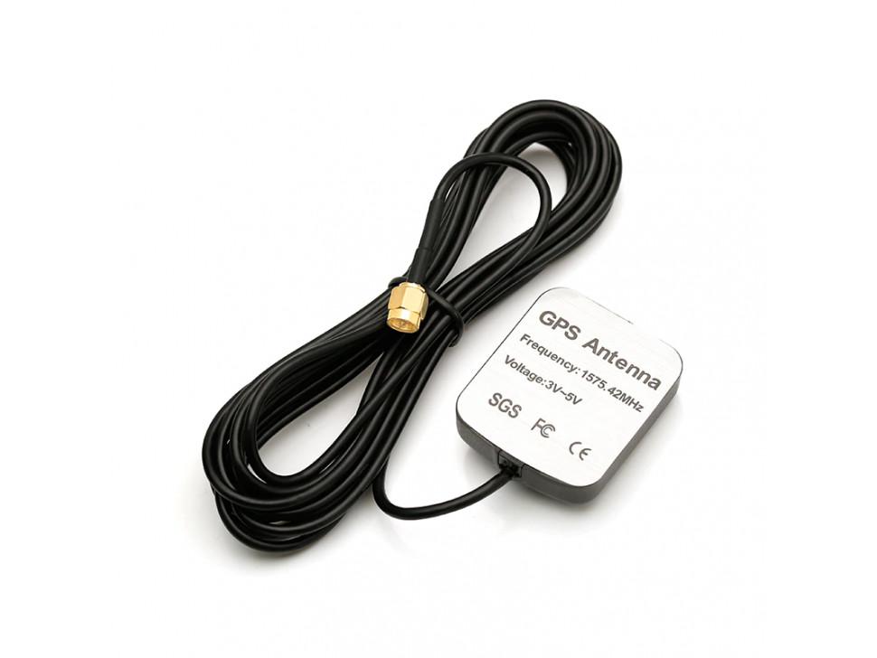 GPS Active Antenna 3m Plug Series Connector SMA