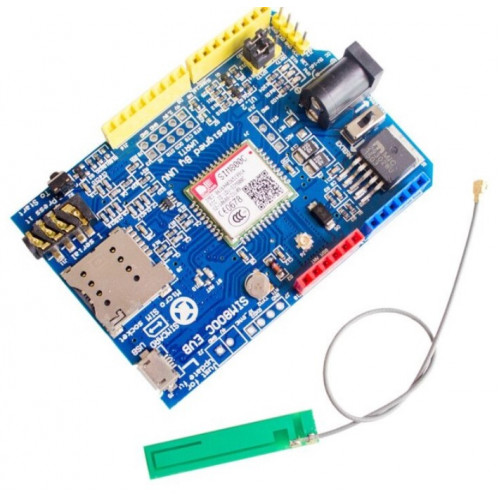 GPRS GSM SIM800C Shield for Arduino