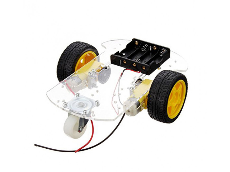 Smart Robot Car 2WD Motor Chassis /Tracing Remote Control Two-wheel Drive Three-wheel Universal