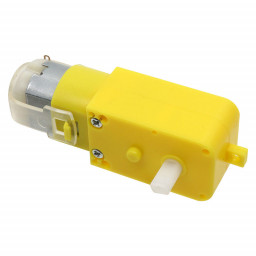 DC Geared Motor with Back Shaft Straight Type
