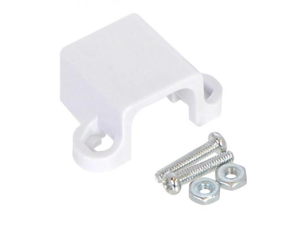 Micro Metal N20 Gear Motor Bracket White