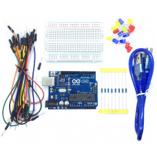 Arduino Uno R3 Starter Kit with LED Resistor Wires