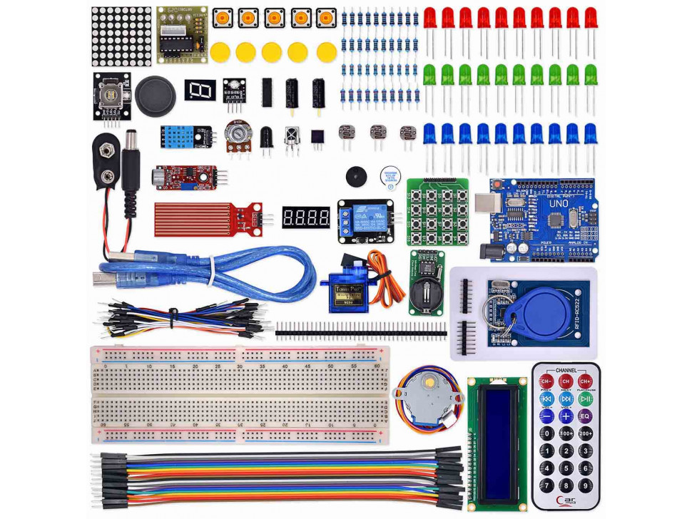 Uno R3 Starter Kit the RFID LCD 1602 Upgraded with Arduino