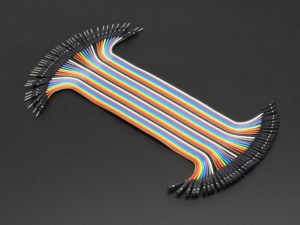 Jumper Wires Male - Female 20cm 20PCS