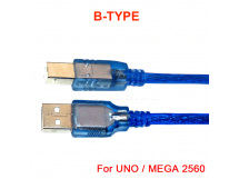 USB Cable Type B to Type A Male for Arduino Uno / Mega