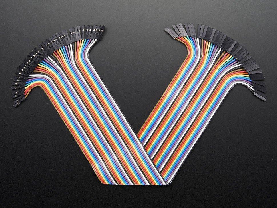 Jumper Wires Female - Female 30cm 20PCS