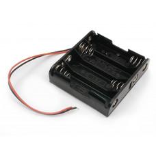 Battery Holder 4x AA 6V