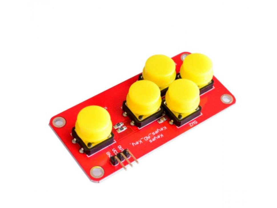 Button Five Key Analog Module