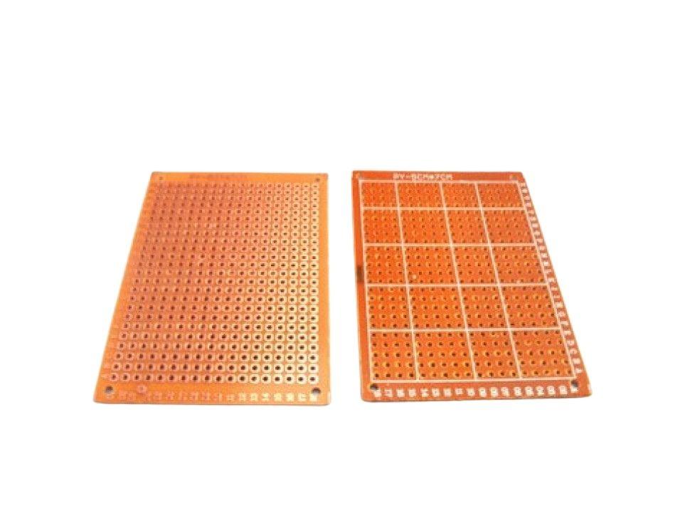 PCB 5x7 Perfboard Plates Bakelite Universal 3PCS