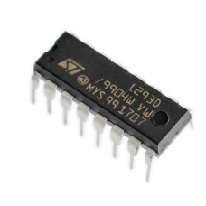 Dual H-Bridge Motor Driver for DC or Steppers 600mA L293D