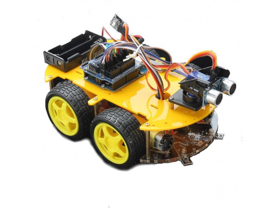 Bluetooth Controlled Robot Smart Car for Arduino