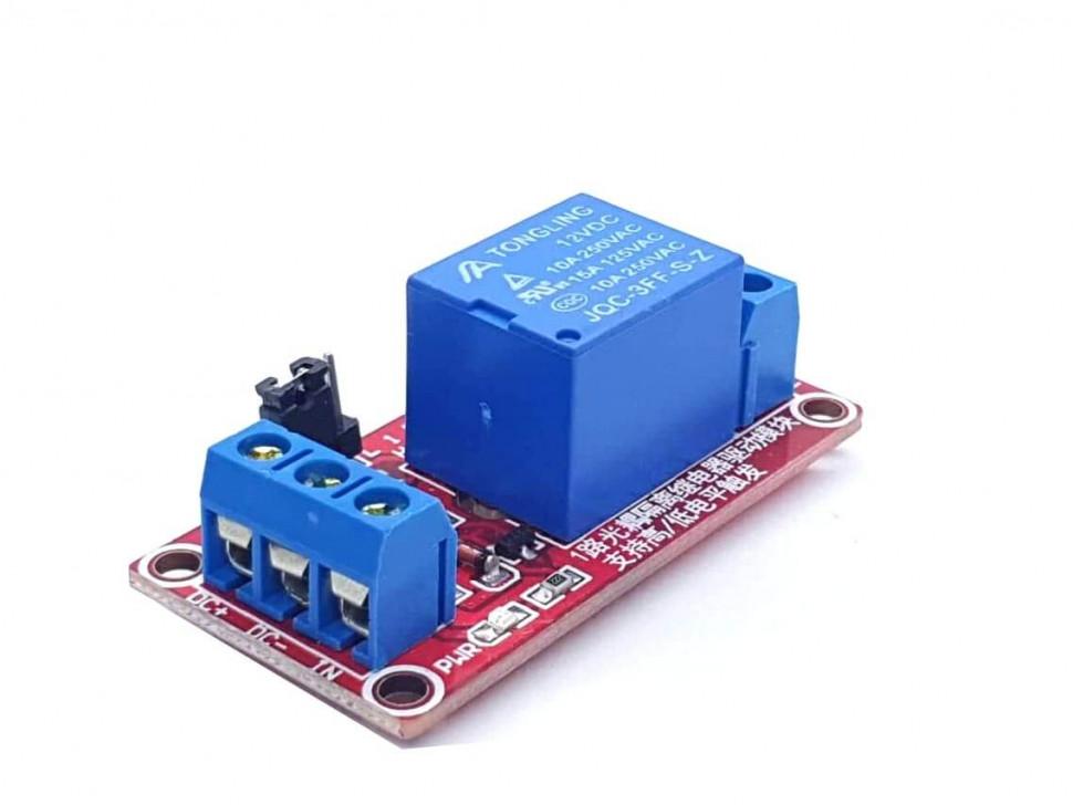 Relay 1 Channel 12V Level Trigger Optocoupler Module