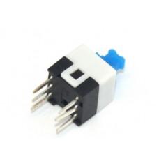 Switch Self-Locking Square DPDT