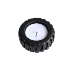 Rubber Wheel N20 ABS 43x19mm