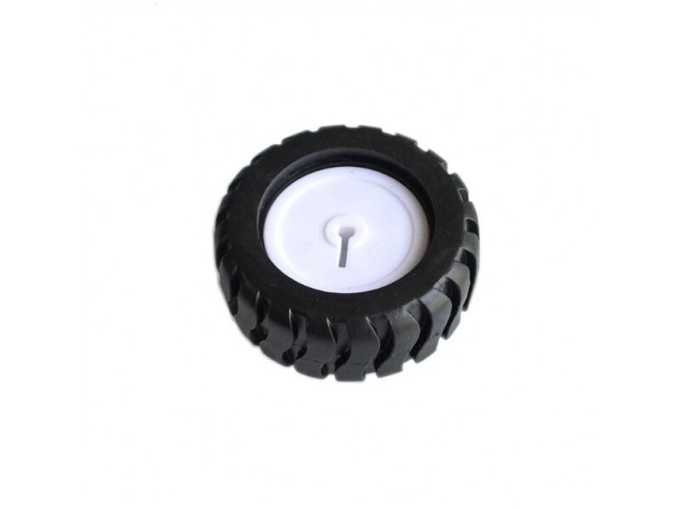 Rubber Wheel N20 ABS 43x19mm