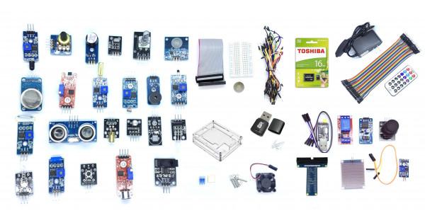 Raspberry Pi Super Starter Kit with Pi 3 B+