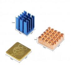 Heatsink Aluminum and Copper Raspberry Pi Kit