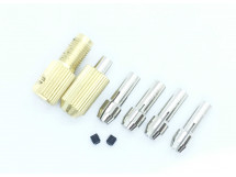 Shaft Drill Chuck Kit with 5 Copper Cores 2mm Aperture