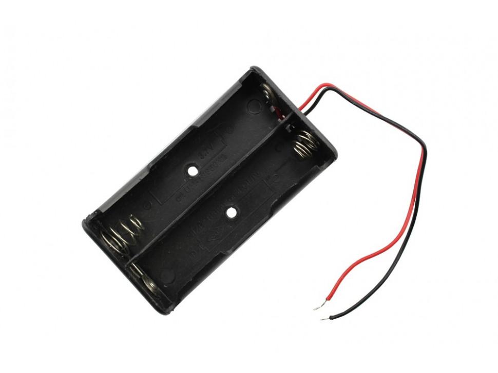 Battery Holder 18650 Dual Slot