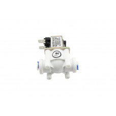 "Solenoid Water Valve DC 12V 1/4"" PE Pipe"