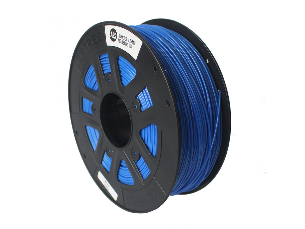 CCTREE ABS 3D Printing Filament 1.75mm FLUORESCENT BLUE