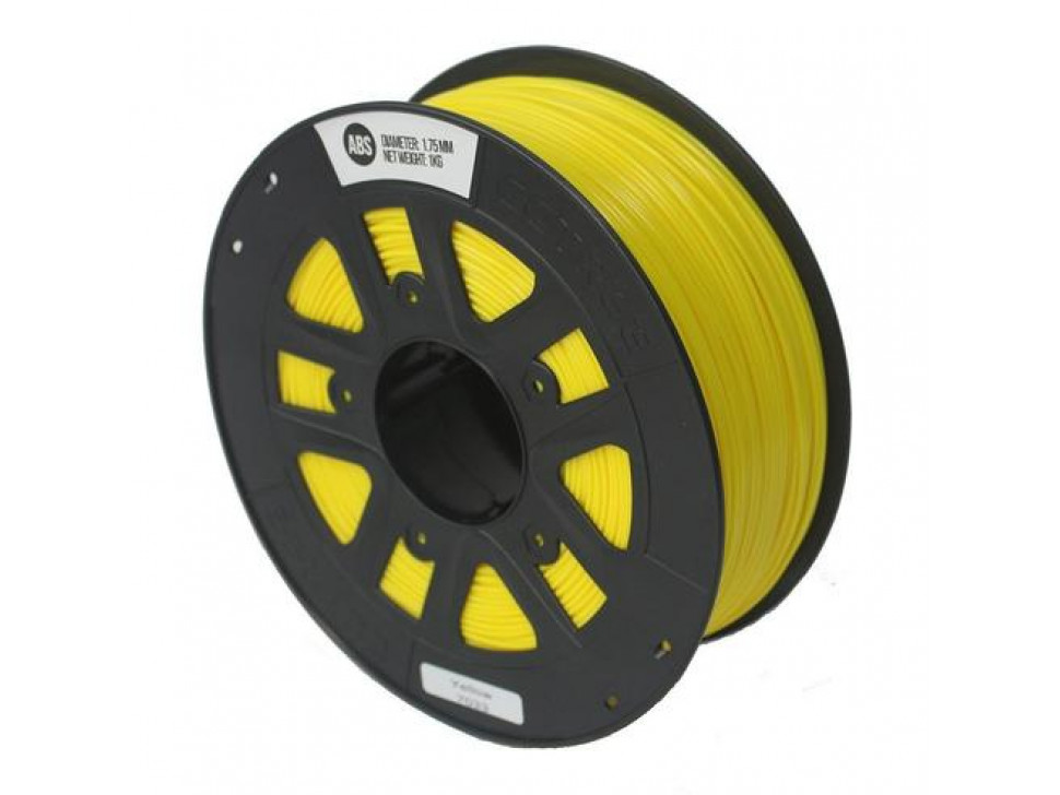 CCTREE ABS 3D Printing Filament 1.75mm YELLOW