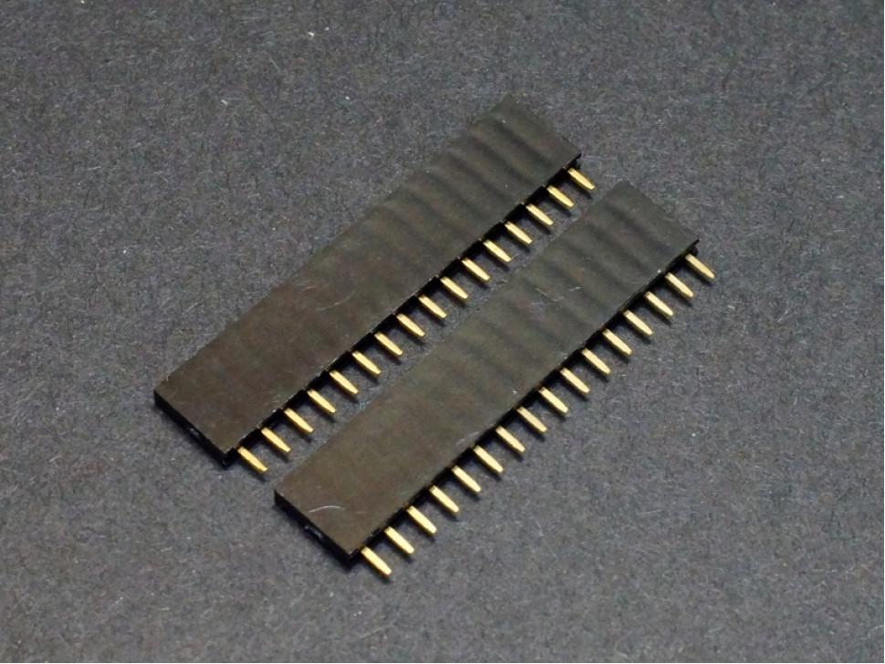 Female Header 1x16 for Arduino 5PCS