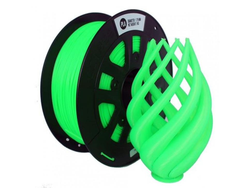 CCTREE PLA 3D Printing Filament 1.75mm FLUORESCENT GREEN