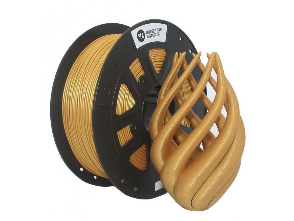 CCTREE PLA 3D Printing Filament 1.75mm GOLD