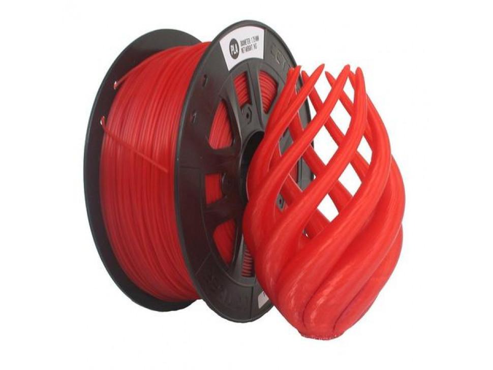 CCTREE PLA 3D Printing Filament 1.75mm TRANPARENT RED