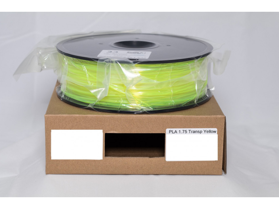 CCTREE PLA 3D Printing Filament 1.75mm TRANSPARENT YELLOW