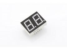 "Dual Digit Numeric Display 0.56"" Red Common Cathode"