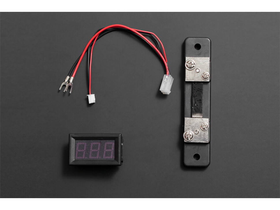 LED Current Meter 50A Red