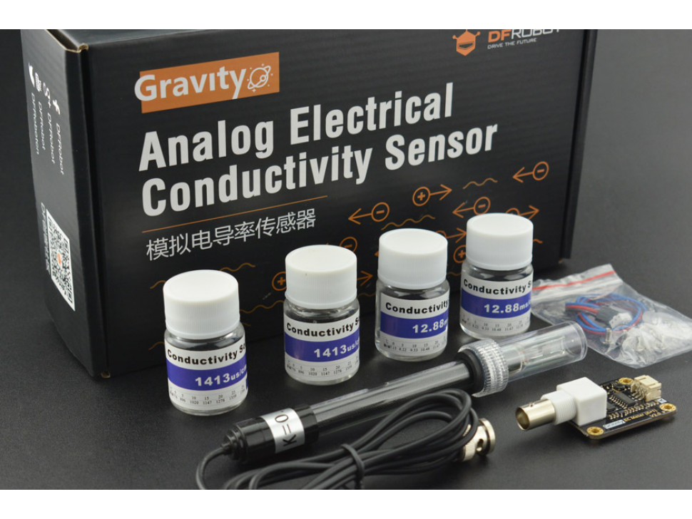Electrical Conductivity K1 Sensor Kit for Arduino