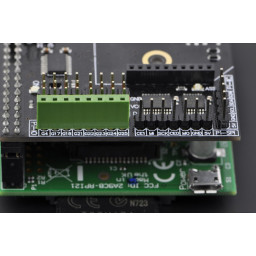 Arduino Expansion Shield for Raspberry Pi model B