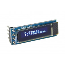 OLED LCD I2C 0-69-Blue Module for Arduino