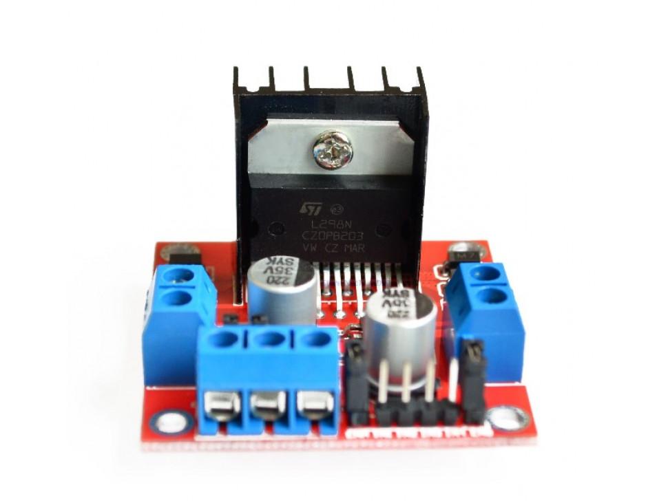 DC Motor Driver / Controller 2x2A L298N