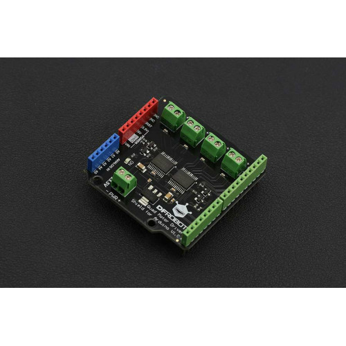 DC Quad Motor Driver Shield for Arduino