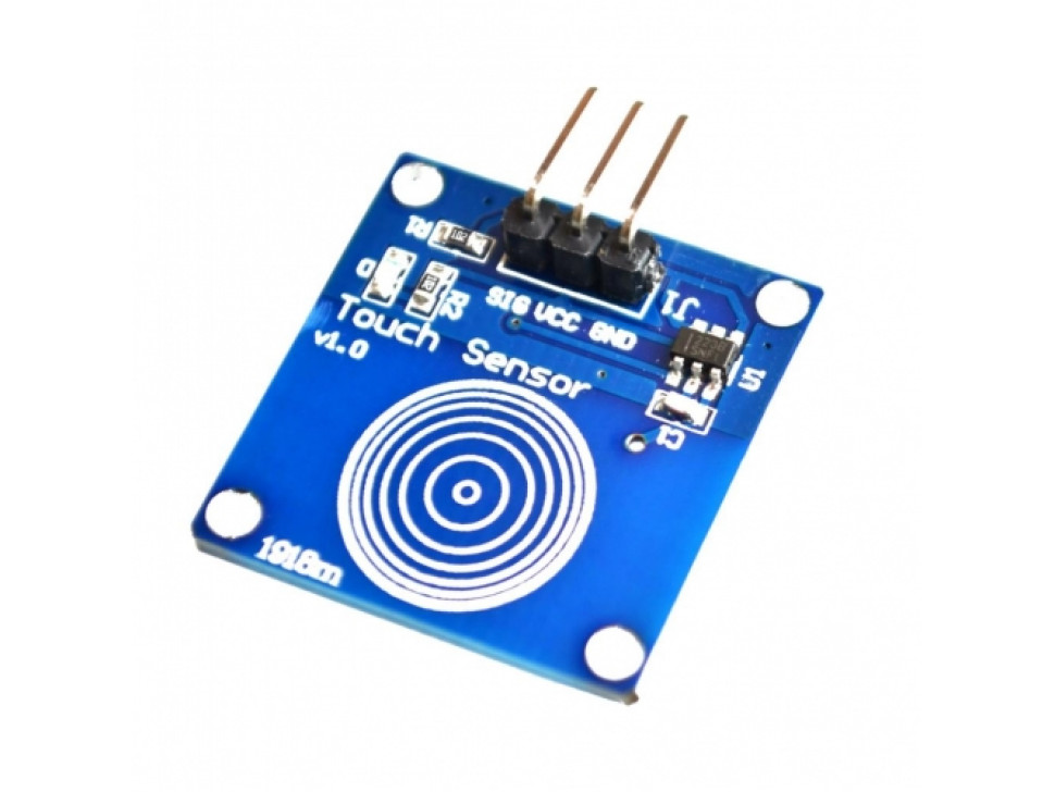 Capacitive Touch Sensor - Toggle