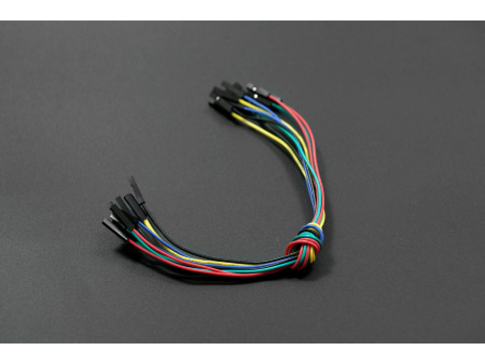 Jumper Wires 9inch F-F 10 Pack