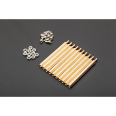 M3 50mm hexagonal standoffs mounting kit 10 sets