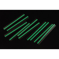Headers 0.1″ 2.54 mm Arduino Male Pin Straight Green 10pcs