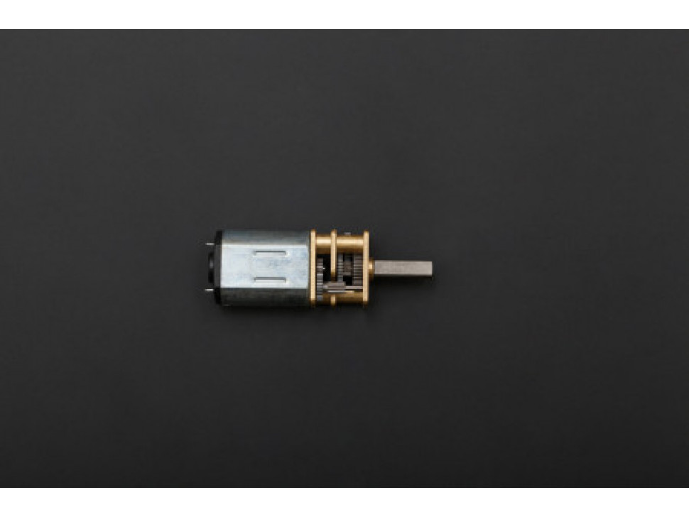 Micro Metal Gearmotor 50:1
