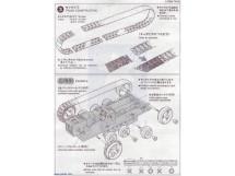 Tank Track and Wheel Set Tamiya