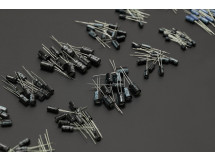 120PCS 12 value 1uF-470uF Electrolytic Capacitor