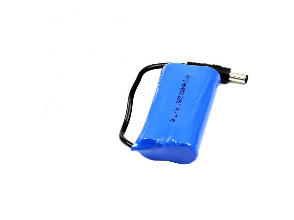 Battery 7.4V 2000mAh 25C Lipo Banana Plug Drone Robotics