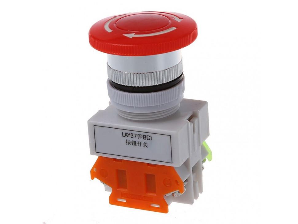 Button Emergency Stop Mushroom Push Switch