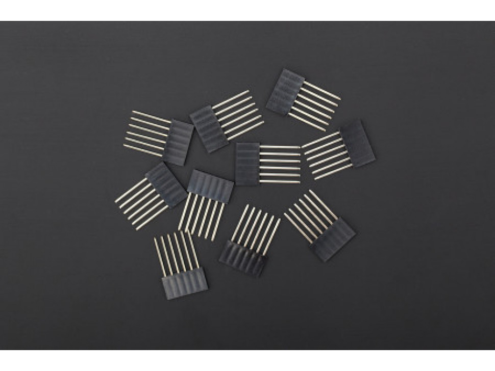 Stackable Header 6 Pin Extended 5PCS