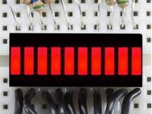 10 Segment Light Bar Graph LED Display Red