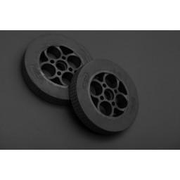 Rubber Wheel 136×24mm Pair